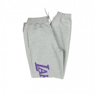 PANTALONE CORTO TUTA NBA WORDMARK JOGGER LOSLAK LIGHT GREY HEATHER/ORGINAL TEAM COLORS