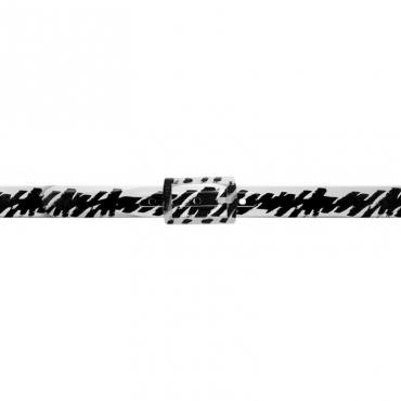 Cinture Schizzo bianca e nero WHITE/BLACK