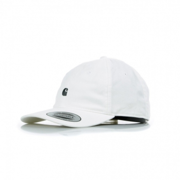 CAPPELLO VISIERA CURVA MADISON LOGO CAP WHITE/DARK NAVY