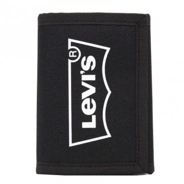 Portafoglio nero con logo 059BLACKREGU