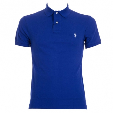 Polo in piqu Slim-Fit Blu HERITAGEROYA