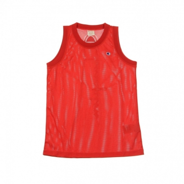 CANOTTA TIPO BASKET TANK TOP RED