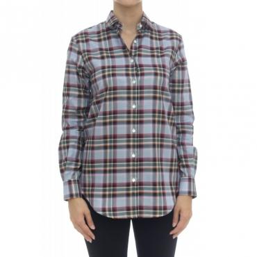 Camicia donna - 1105 55312 quadro 001