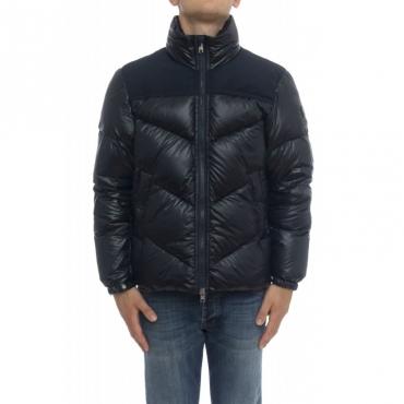 Piumino - Wocps2861 logo jacket 3989 - Blu