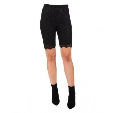 Bike shorts in pizzo Riunire Black