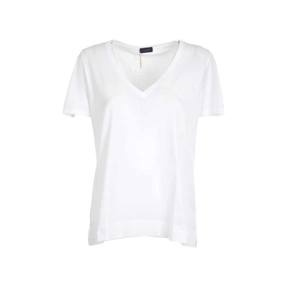 T-shirt con scollo a V 010