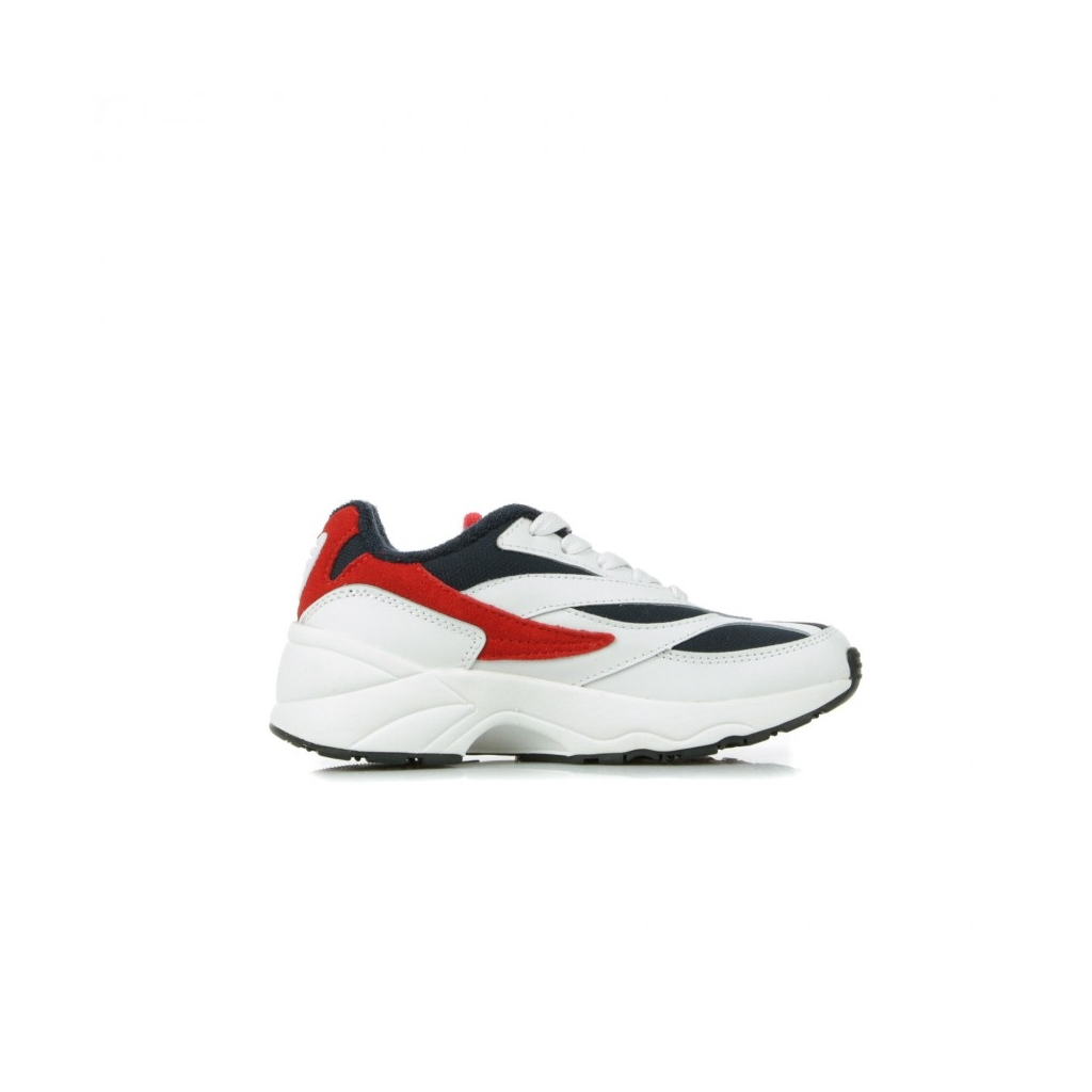 SCARPA BASSA V94M JR WHITE/FILA NAVY/FILA RED