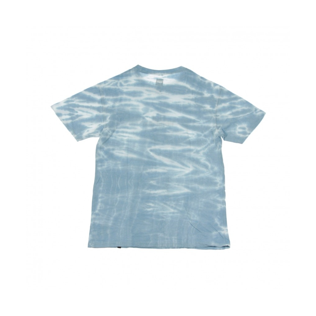 MAGLIETTA ISSUE LOGO RESORT WASH BLUE