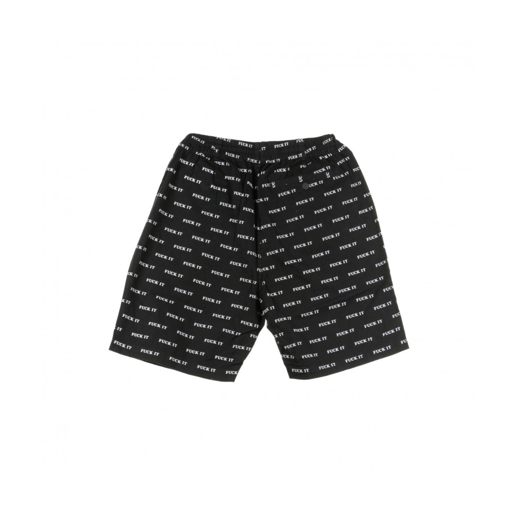 PANTALONE CORTO FUCK IT EASY SHORT BLACK