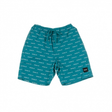 PANTALONE CORTO FUCK IT EASY SHORT BISCAY BAY TEAL