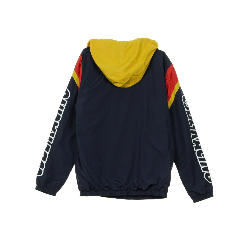 GIACCA A VENTO ANORAK CRT WINDBREAKER NAVY/YELLOW