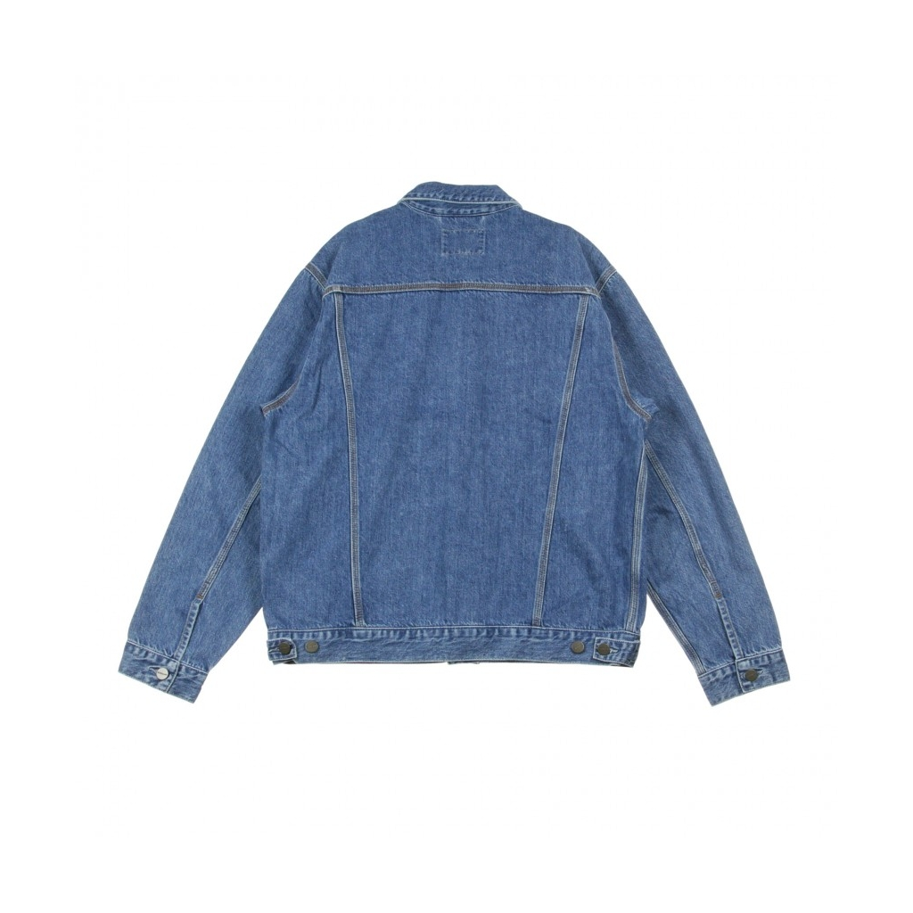 GIUBBOTTO JEANS WESTERN JACKET BLUE STONE WASHED