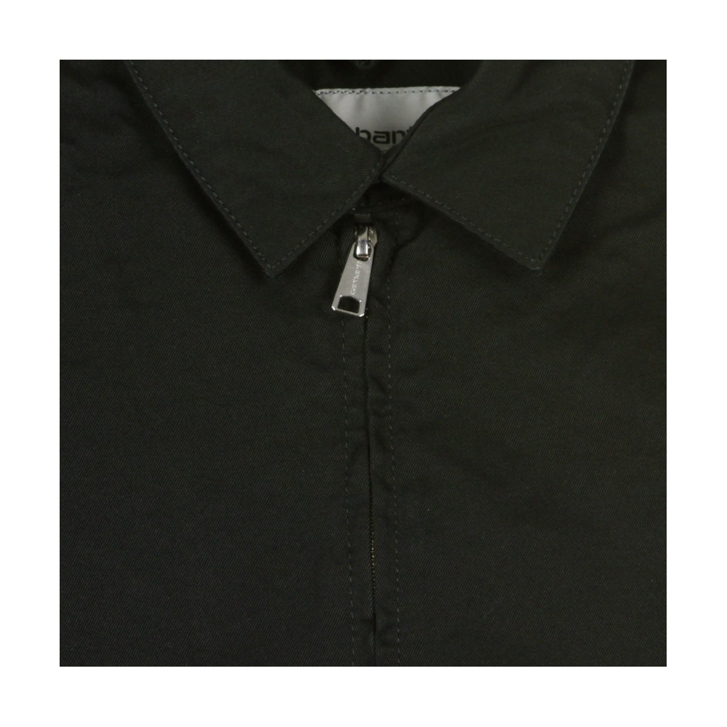 GIACCA COACH JACKET MADISON JACKET BLACK/WHITE