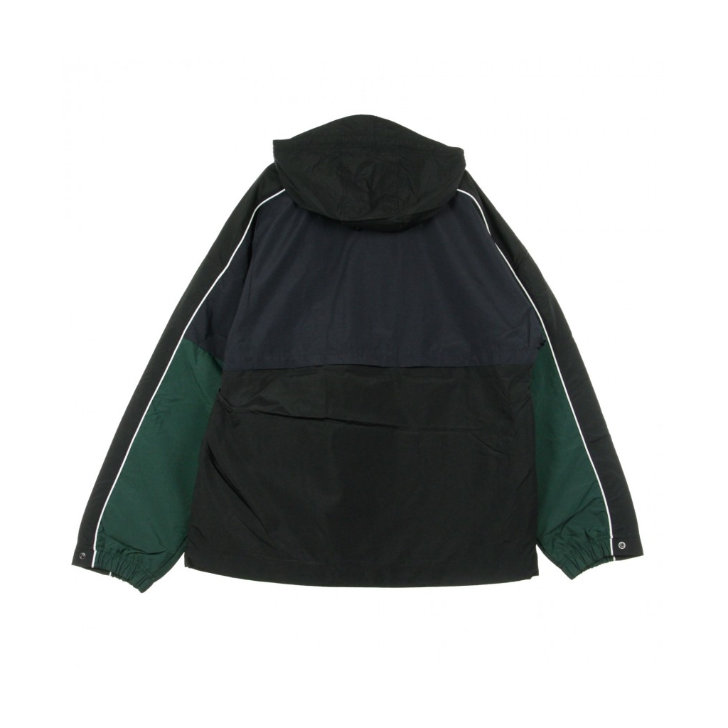 GIACCA A VENTO ANORAK TERRACE PULLOVER DARK NAVY/BLACK/BOTTLE GREEN