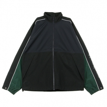 GIACCA A VENTO TERRACE JACKET DARK NAVY/BLACK/BOTTLE GREEN