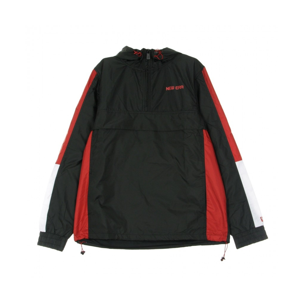 GIACCA A VENTO INFILABILE NE CONTEMPORARY WINDBREAKER NEWERA BLACK/WHITE/SCARLET