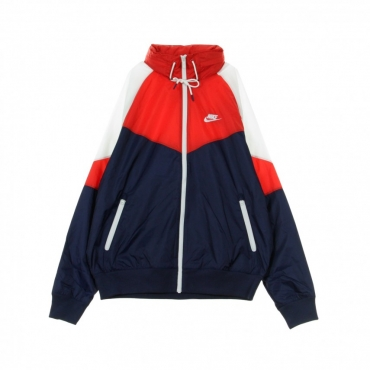 GIACCA A VENTO HE WR JKT HD+ MIDNIGHT NAVY/UNIVERSITY RED/WHITE