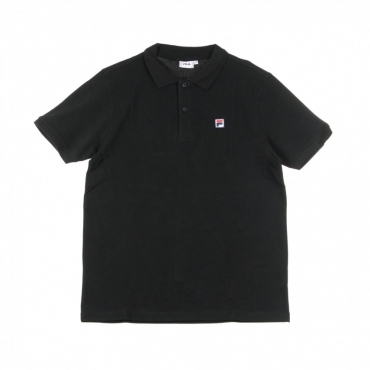 POLO MANICA CORTA EDGAR BLACK