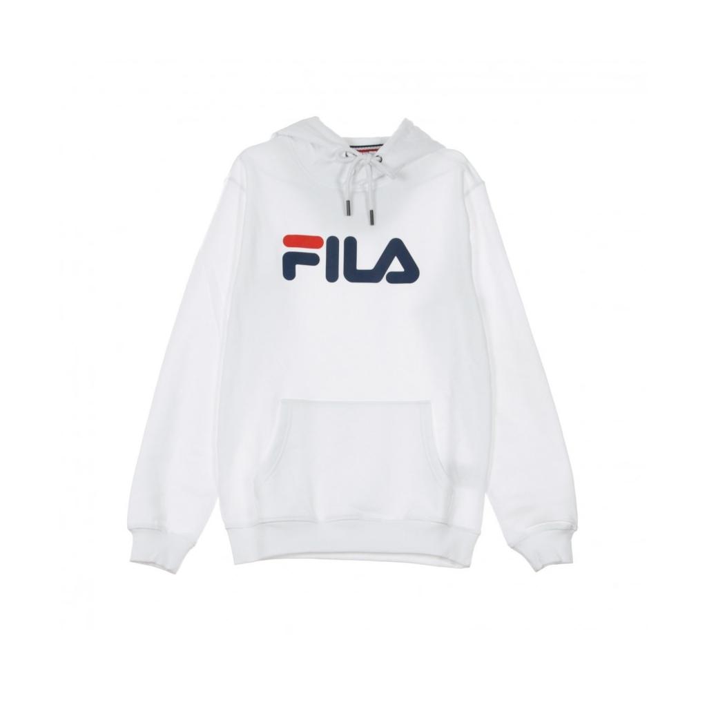 FELPA CAPPUCCIO CLASSIC PURE HOODY KANGAROO BRIGHT WHITE