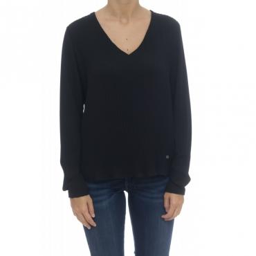 Camicia donna - Four camicia 0016 - Nero