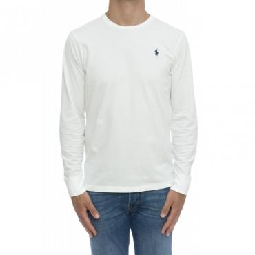 T shirt manica lunga - 714680 t-shirt manica lunga BIANCO