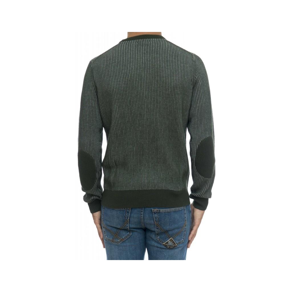 Maglia uomo - K29136 maglia costa inglese bicolore 37 - verde