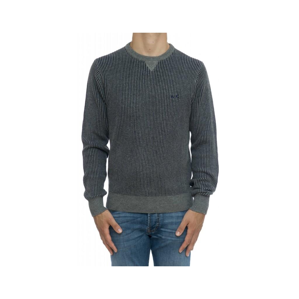 Maglia uomo - K29136 maglia costa inglese bicolore 34 - grigio