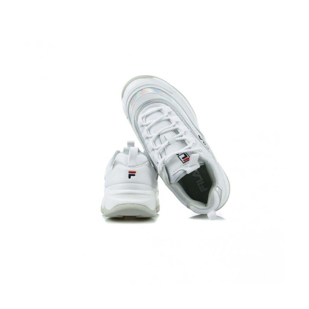 SCARPA BASSA RAY M LOW WMN WHITE/SILVER