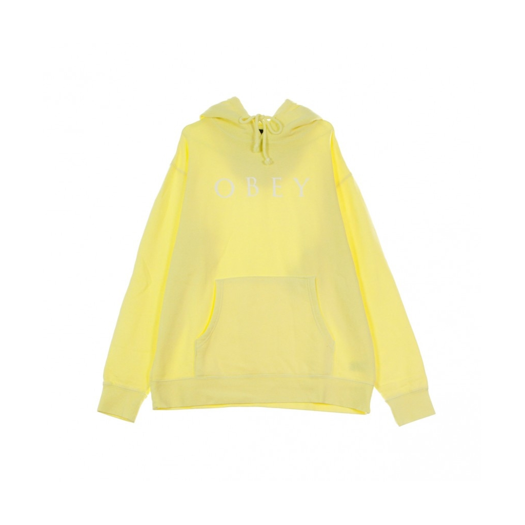 FELPA CAPPUCCIO NOVEL OBEY 2 HOODY DUSTY YELLOW