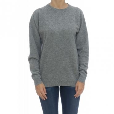 Maglieria - B20001 maglia 100 lana made in italy 18 - Grigio