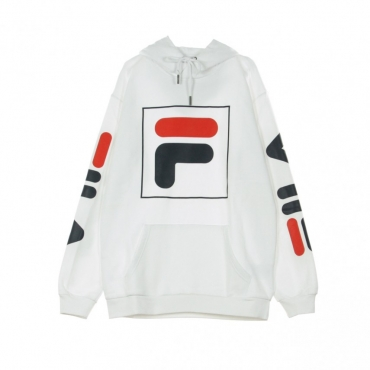 FELPA CAPPUCCIO TOTAL HOOD 20 BRIGHT WHITE