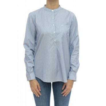 Camicia donna - S29203 camicia coreana 103 - Navy blu