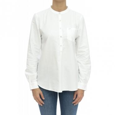 Camicia donna - S29203 camicia coreana 01 - Bianco
