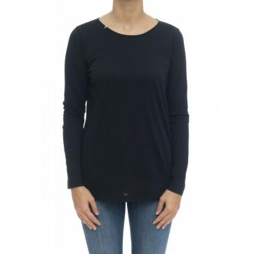 Camicia donna - T29212 t-shirt 11 - nero
