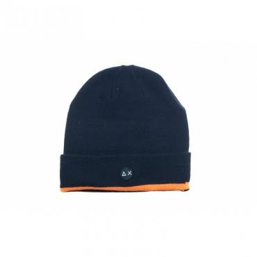 Berretto - C29122 berretto banda fluo 07 - blu navy