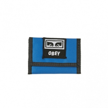 PORTAFOGLI DROP OUT TRI FOLD WALLET SKY BLUE