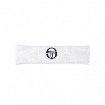 FASCETTA HEADBAND ARCHIVIO WHITE/NAVY