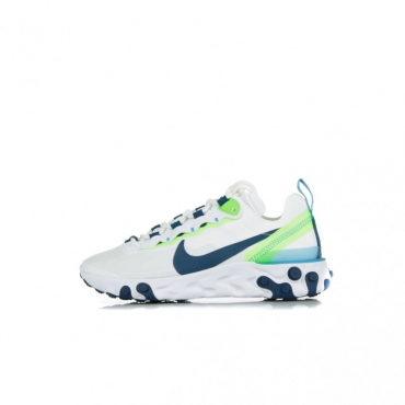 SCARPA BASSA W REACT ELEMENT 55 WHITE/BLUE FORCE/SUMMIT WHITE
