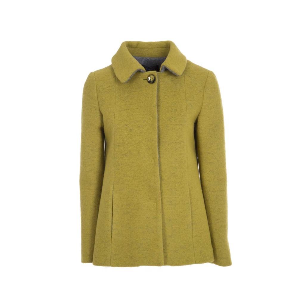 new product 820f9 66328 PRIVATE - Cappotto in lana cotta con bottone 97 - Giacche e Cappott...