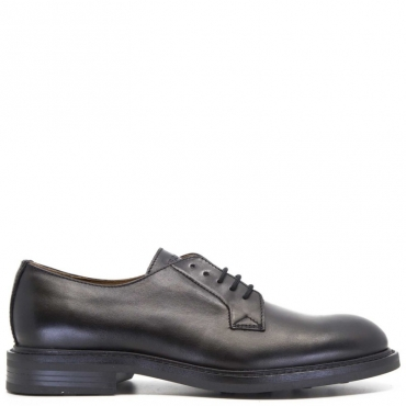 Oxford in pelle nera NERO