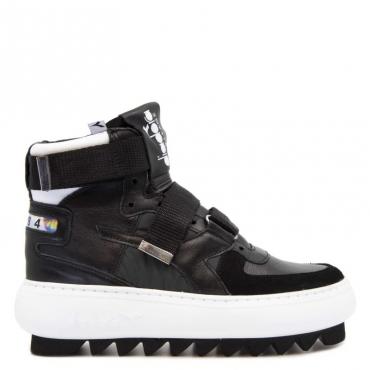 Sneakers Heritage Cyberpunk Basket NERO