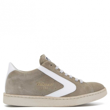 Sneakers Tournament Suede Stone Bianco STONE/BIANCO