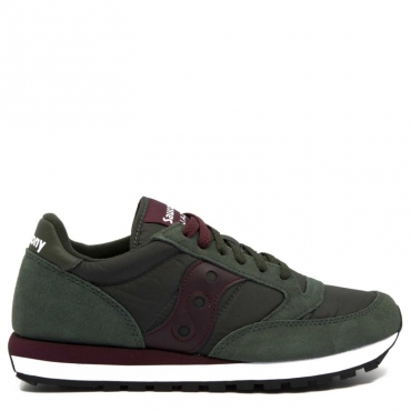 Sneakers Jazz Original Green Burgundy 374GREEN/BUR