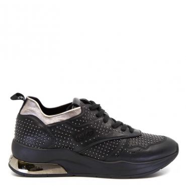 Sneakers Karlie con micro borchie 22222BLACK