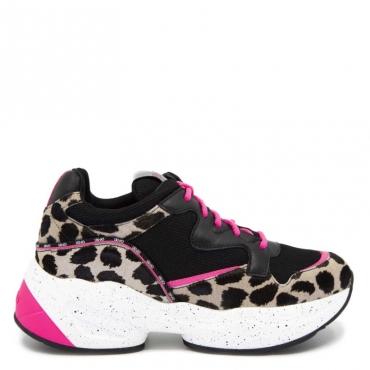 Sneakers Jog 09 maculate S1007BLACK/N