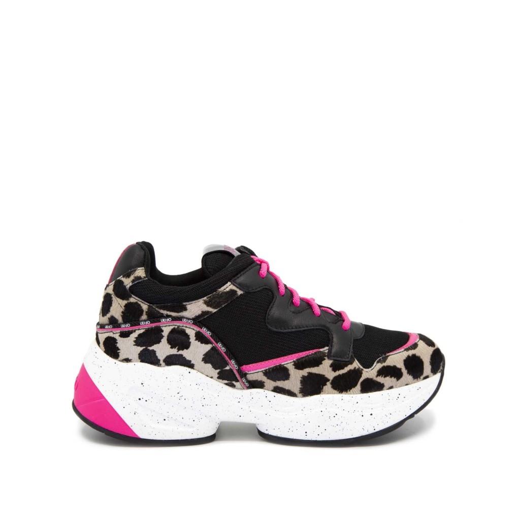 Sneakers Jog 09 maculate S1007BLACKN |