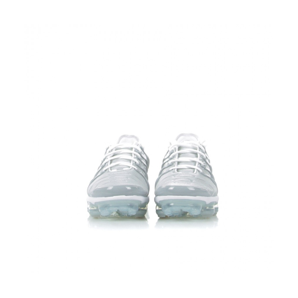 SCARPA BASSA AIR VAPORMAX PLUS WHITE/METALLIC SILVER/WOLF GREY
