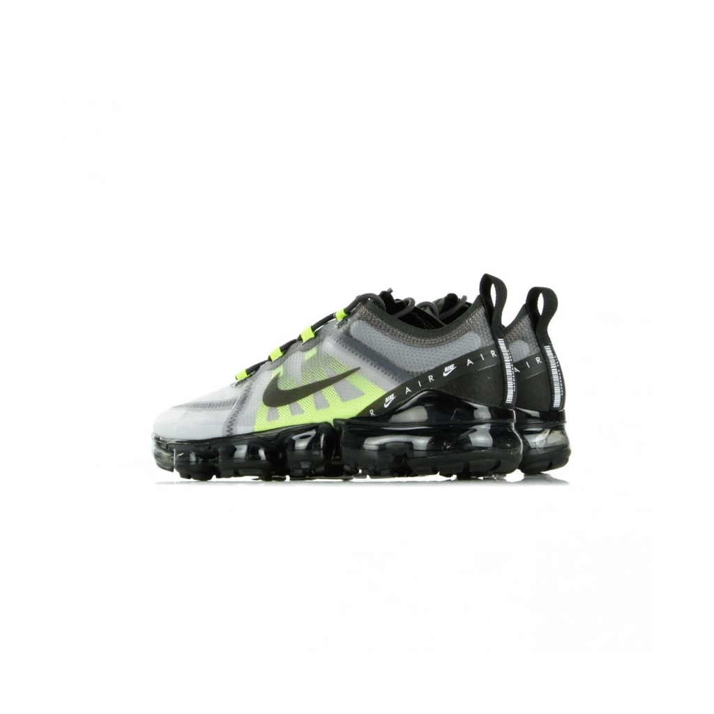 SCARPA BASSA AIR VAPORMAX LX ATMOSPHERE GREY/BLACK/THUNDER GREY/VOLT