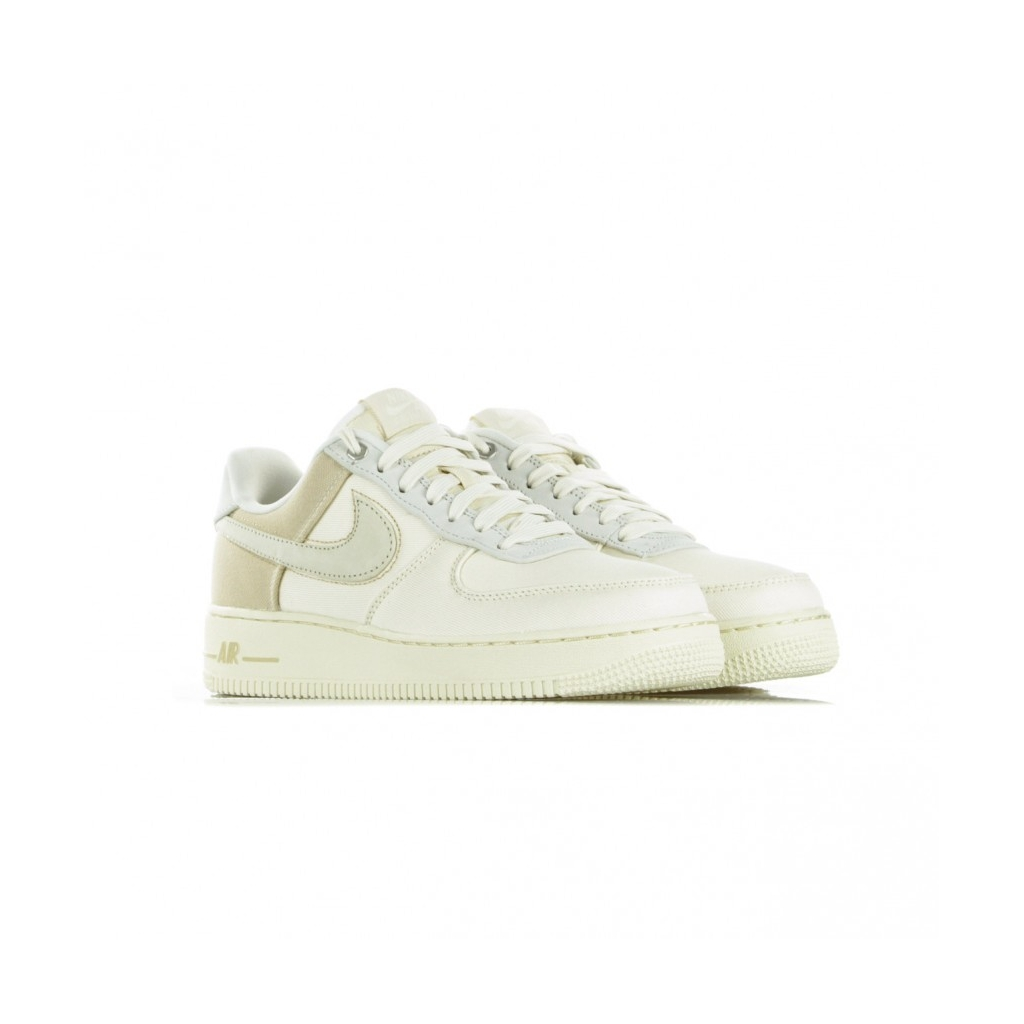 SCARPA BASSA AIR FORCE 1 07 PRM 3 PALE IVORYLIGHT CREAMDESERT ORESAIL