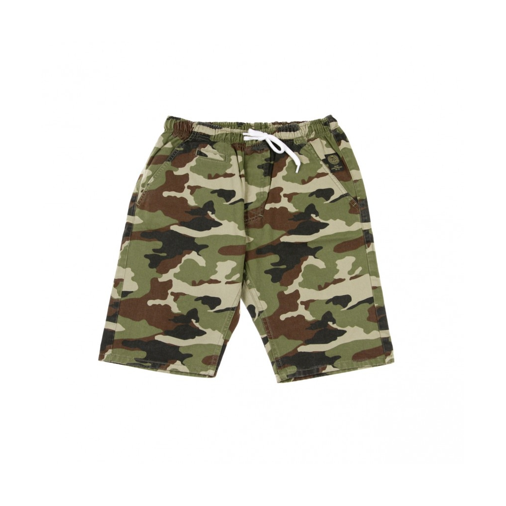 PANTALONE CORTO SHORTS CHINO CLASSICS STRAIGHT FIT WOODLAND CAMO